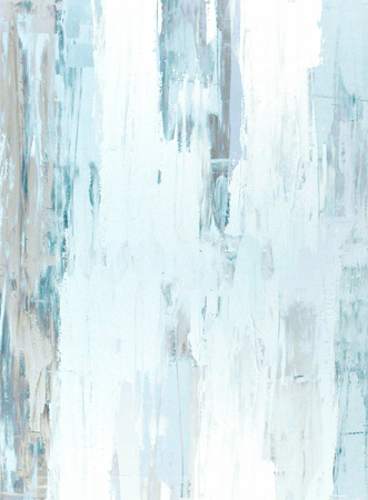 Teal and Brown Abstract Art Painting Stock fotó