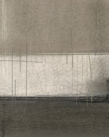 arte abstrata: Brown and Beige Pintura abstrata Art Banco de Imagens