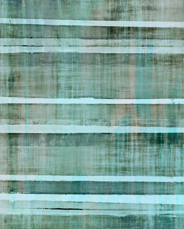 beige: Turquoise and Beige Abstract Art Painting
