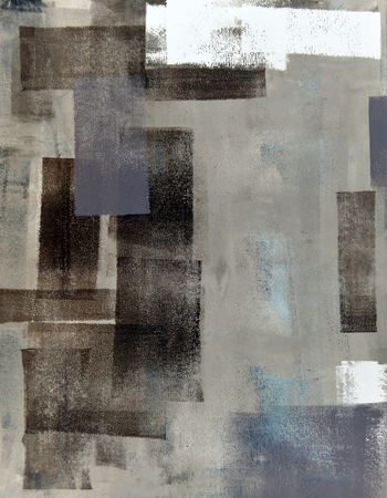 Beige and Brown Abstract Art Painting Stock fotó