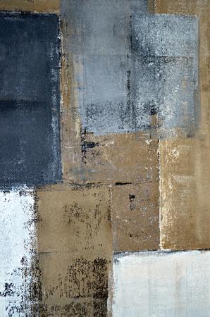 Grau und Braun Kunst-Malerei Standard-Bild - 65109032