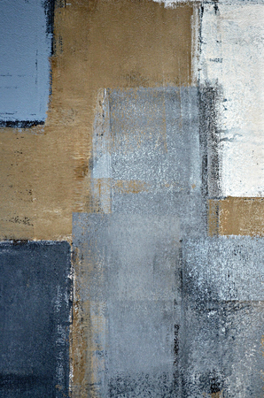 Grey and Brown Abstract Art Painting