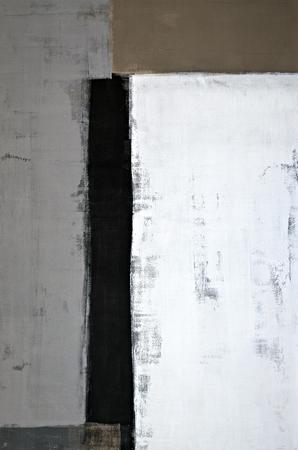 중립적 인 추상 미술 그림