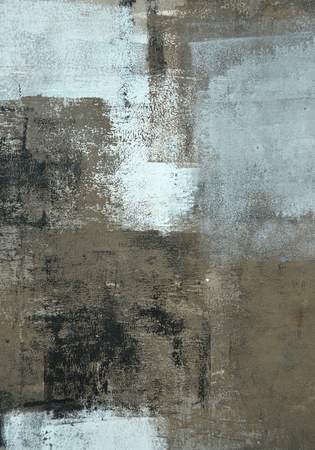 neutral: Neutral Abstract Art Painting Stock Photo