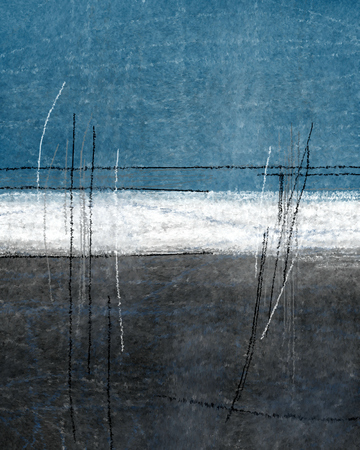 Blue and Grey Abstract Art Archivio Fotografico