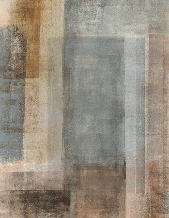 Grey and Beige Abstract Art Painting Stock Photo