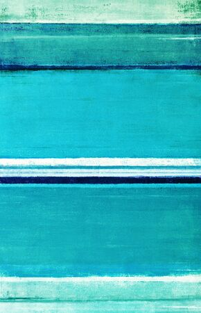 Turquoise Abstract Art Painting