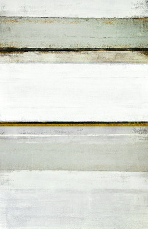 Neutral Abstract Art Painting Archivio Fotografico