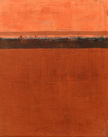 pintura abstracta: Pintura del arte abstracto naranja