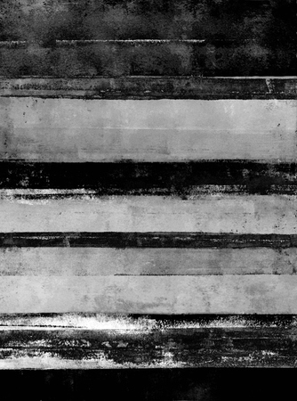 painting art: Black and White Abstract Art Painting