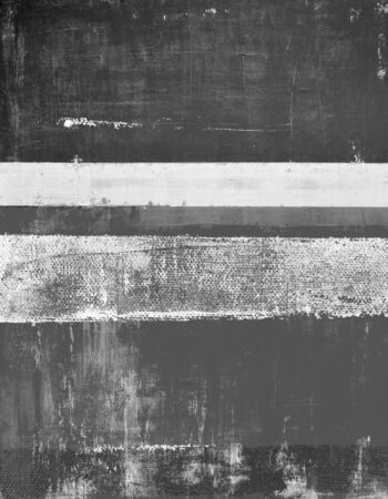 painting art: Grey Abstract Art Painting Stock Photo