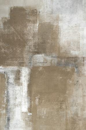 Neutral Abstract Art Painting Stock fotó