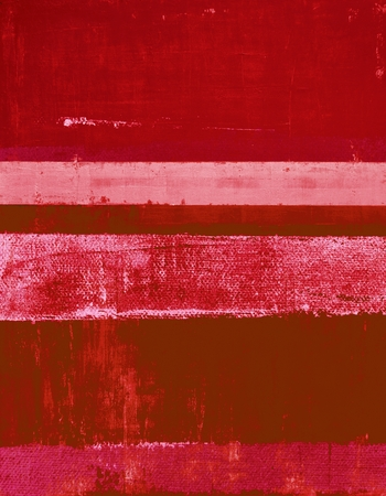abstract paintings: Red Abstract Art Painting Stock Photo