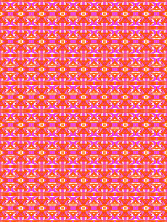 cor: Pink and Orange Pattern Stock Photo