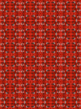 cor: Red and Grey Pattern