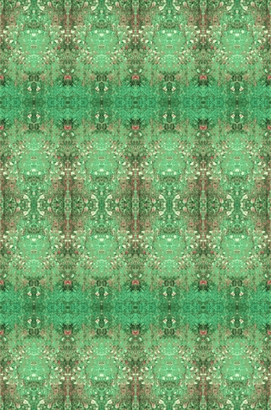 cor: Green and Red Pattern