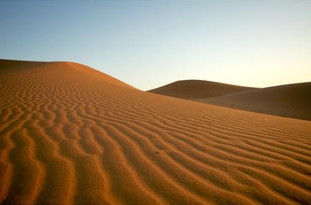 Saharan desert at Erg Chebbi, Morocco