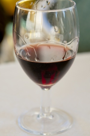 fortified: Glass with Moscatel fortified wine