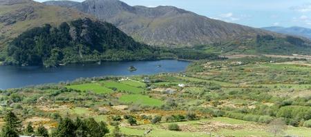 View of Heally Pass at Beara peninsula, Ireland Stock Photo - 9817223