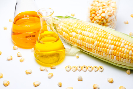 Corn biofuel research