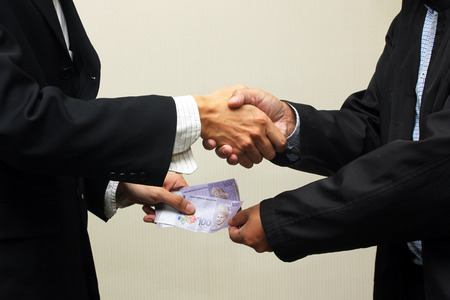 비즈니스 무역 개념