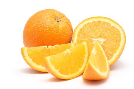 sliced orange: Orange fruit with sliced orange