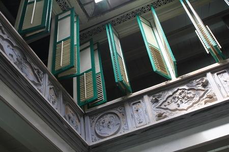 말라 카, 말레이시아의 유산 집 창
