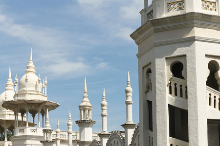 mughal architecture: Moorish Mughal architecture of the old Kuala Lumpur railway station
