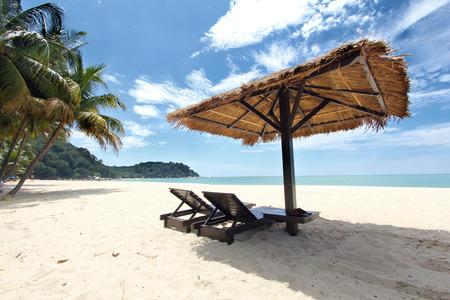 Tropical beach vacation 版權商用圖片