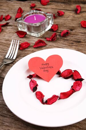 dinner date: Valentines day dinner date Stock Photo