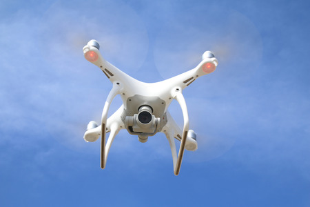hobbyist: Drone in flight
