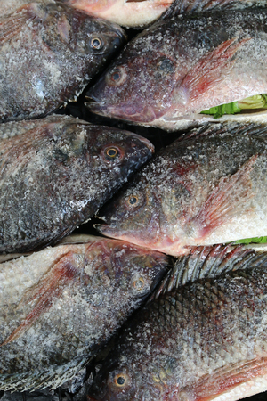 태국 식 생선 구이