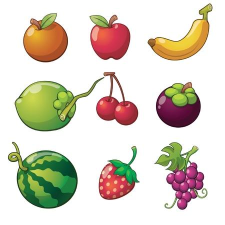 coconut fruit: Fruit set