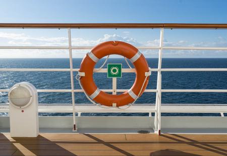 view from a cruise ship Archivio Fotografico