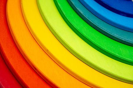 colorful building blocks - kids toy - concept image