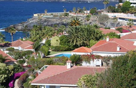tropical luxury home in Los Gigantos, Canary, Tenerife photo