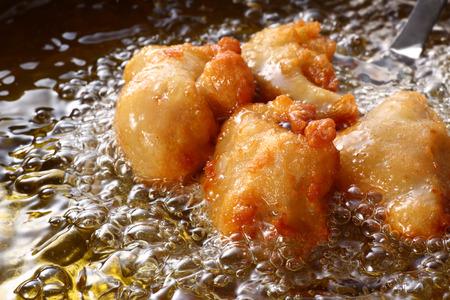 일본어 튀김 닭