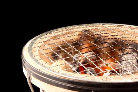 asian charcoal  stove Stock Photo