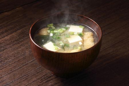 Miso soup Foto de archivo