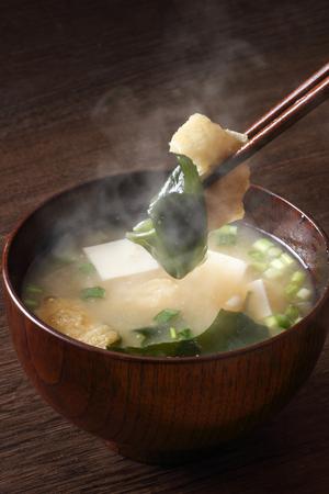 Miso soup 版權商用圖片