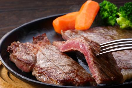 Steak de b?uf