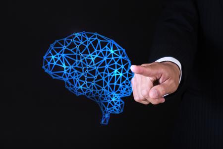 AI concept 写真素材