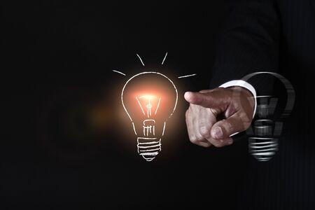 acquaintance: business idea concept