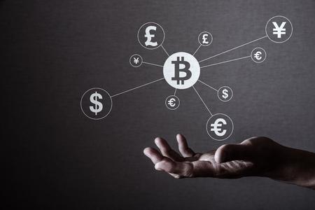 Bitcoin 개념 스톡 콘텐츠