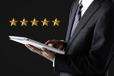 5 star rating concept