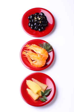 osechi, traditional japanese food Stock Photo
