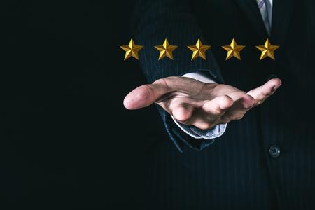 5 sterren beoordeling