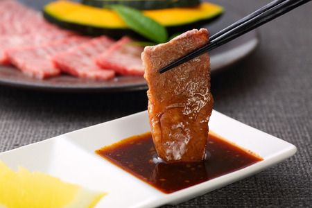 Japanese-style barbecue 스톡 콘텐츠