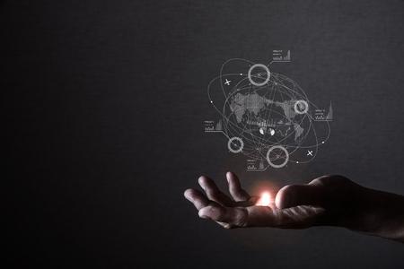 globalna koncepcja biznesowa Zdjęcie Seryjne
