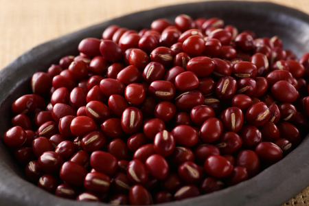 japanese red bean on the table